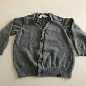 Zara boys cardigan